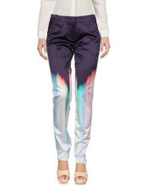 Повседневные брюки MATTHEW WILLIAMSON. Цвет: фиолетовый