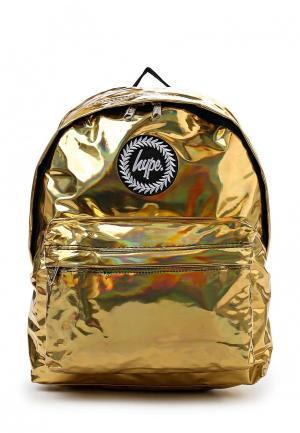 Рюкзак Hype. Цвет: золотой