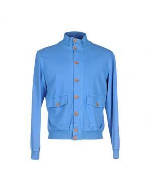 Куртка FRADI. Цвет: синий