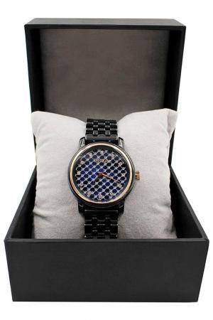 Керамические часы с футляром BORA. Цвет: черный