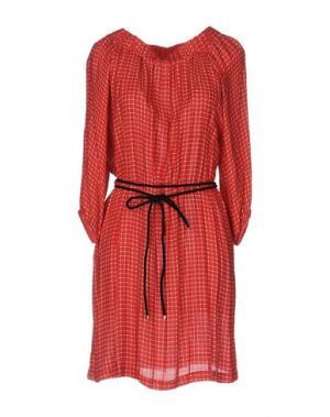 Короткое платье ..,MERCI. Цвет: красный