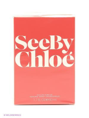 Chloe See By Ж Товар Парфюмерная вода 50 мл. Цвет: красный