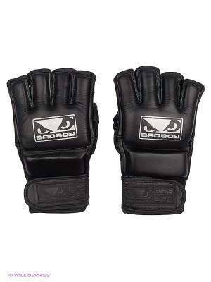 Перчатки Pro Series Gel MMA Bad boy. Цвет: черный