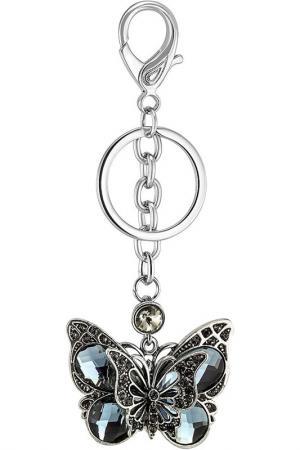 Брелок Бабочка Glam. Цвет: серебряный