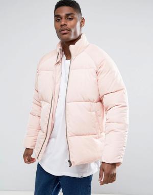 ASOS Розовая дутая куртка. Цвет: розовый