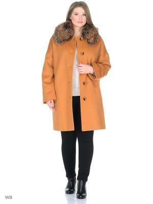 Пальто Gamelia. Цвет: бронзовый