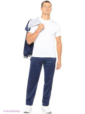 Спортивные брюки ADDIC. Цвет: синий