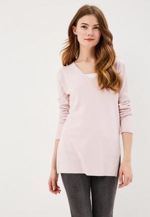 Пуловер Bluoltre. Цвет: розовый