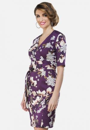 Платье La Vida Rica. Цвет: фиолетовый