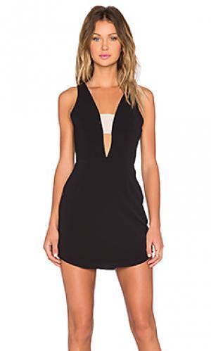 Платье details NBD. Цвет: черный