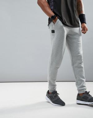 Dissident Флисовые спортивные штаны. Цвет: серый