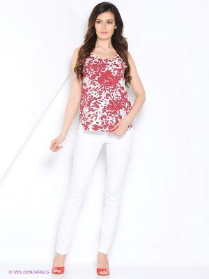 Блузка Vis-a-vis. Цвет: бордовый