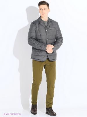 Куртка CONVER. Цвет: серый
