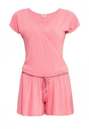 Комбинезон Petit Pas. Цвет: розовый