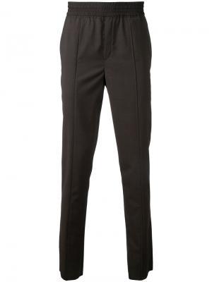 Классические брюки в стиле casual Neil Barrett. Цвет: коричневый