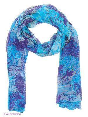 Платок Labbra. Цвет: голубой