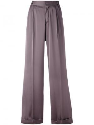 Широкие брюки Powder A.F.Vandevorst. Цвет: серый