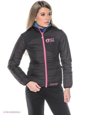Куртка Picture Organic. Цвет: черный