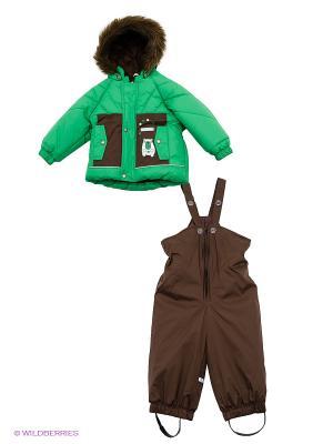 Комплект Kerry. Цвет: зеленый, коричневый