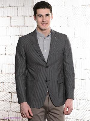Пиджак MONDIGO. Цвет: серый