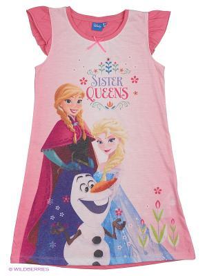 Ночная сорочка Frozen. Цвет: белый