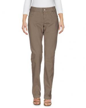 Джинсовые брюки TIMBERLAND. Цвет: хаки