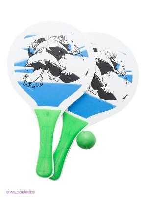 Игровой набор Теннис S-S. Цвет: белый, зеленый