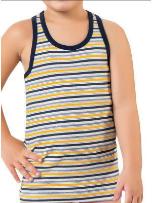 Боксерка для мальчиков Oztas kids' underwear. Цвет: черный, оранжевый, белый