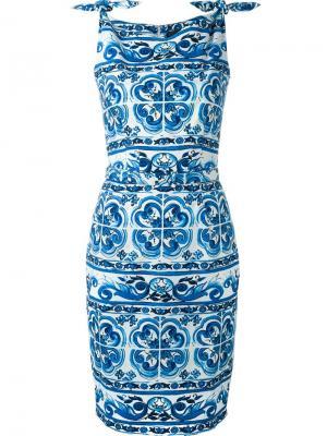 Платье Monroe Samantha Sung. Цвет: синий