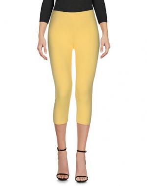 Легинсы EAN 13. Цвет: желтый