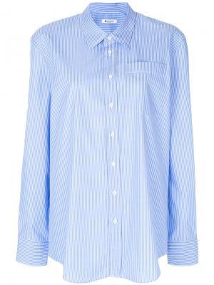 Striped shirt Dondup. Цвет: синий
