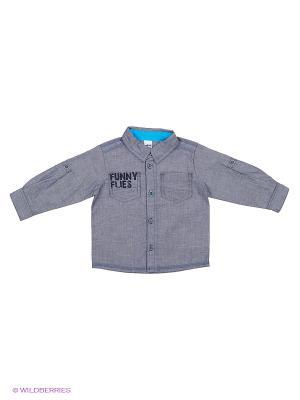 Рубашка Wojcik. Цвет: синий