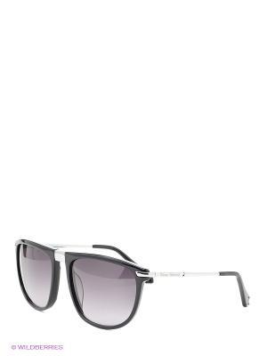 Солнцезащитные очки VW 820S 01 Vivienne Westwood. Цвет: черный