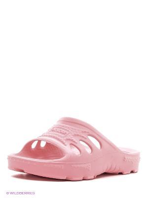 Шлепанцы DEMAR. Цвет: розовый