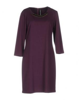 Короткое платье SALLY NEW YORK. Цвет: фиолетовый