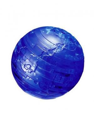 Crystal Puzzle 3D Земля L New Склад Уникальных Товаров. Цвет: синий