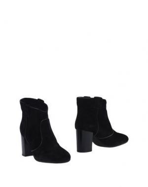 Полусапоги и высокие ботинки FABIO RUSCONI. Цвет: черный