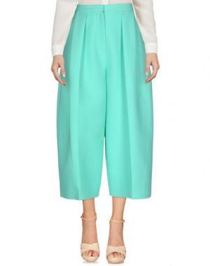 Повседневные брюки ROKSANDA. Цвет: светло-зеленый