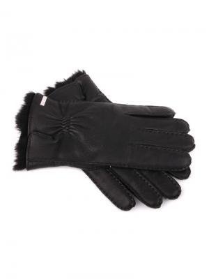 Перчатки DALDOSSO. Цвет: черный