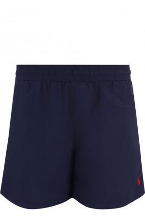 Плавки-шорты с карманами Polo Ralph Lauren. Цвет: темно-синий