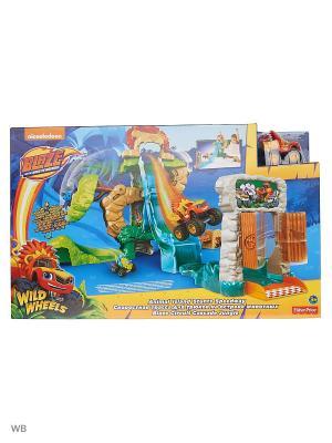 Вспыш: Игровой набор Энимал Айлэнд Mattel. Цвет: синий