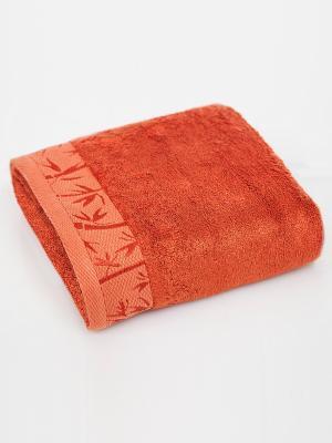 Полотенце Унисон. Цвет: рыжий