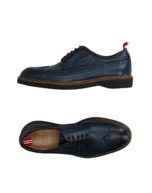 Обувь на шнурках GREEN GEORGE. Цвет: синий