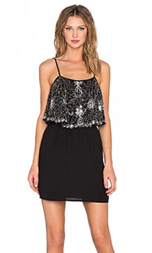 Платье sunkissed Lovers + Friends. Цвет: черный