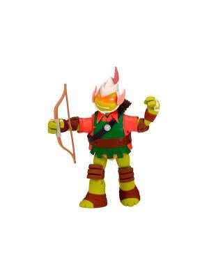 Фигурка Черепашки-ниндзя Эльф Майки, 12 см Playmates toys. Цвет: зеленый, красный