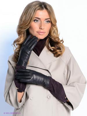 Перчатки Eleganzza. Цвет: темно-фиолетовый