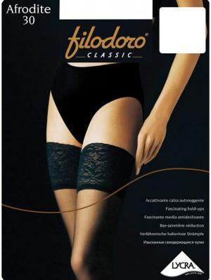 Чулки Filodoro Classic. Цвет: белый