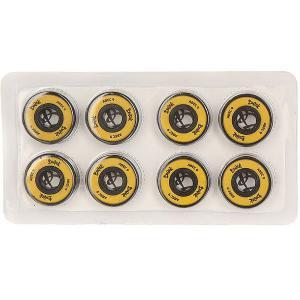Подшипники для скейтборда  Yellow/Black Вираж. Цвет: желтый,черный
