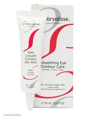 Разглаживающий крем для контура глаз, 15 мл. Embryolisse. Цвет: белый