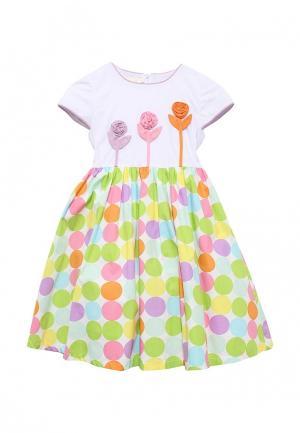 Платье Molly Rou. Цвет: разноцветный